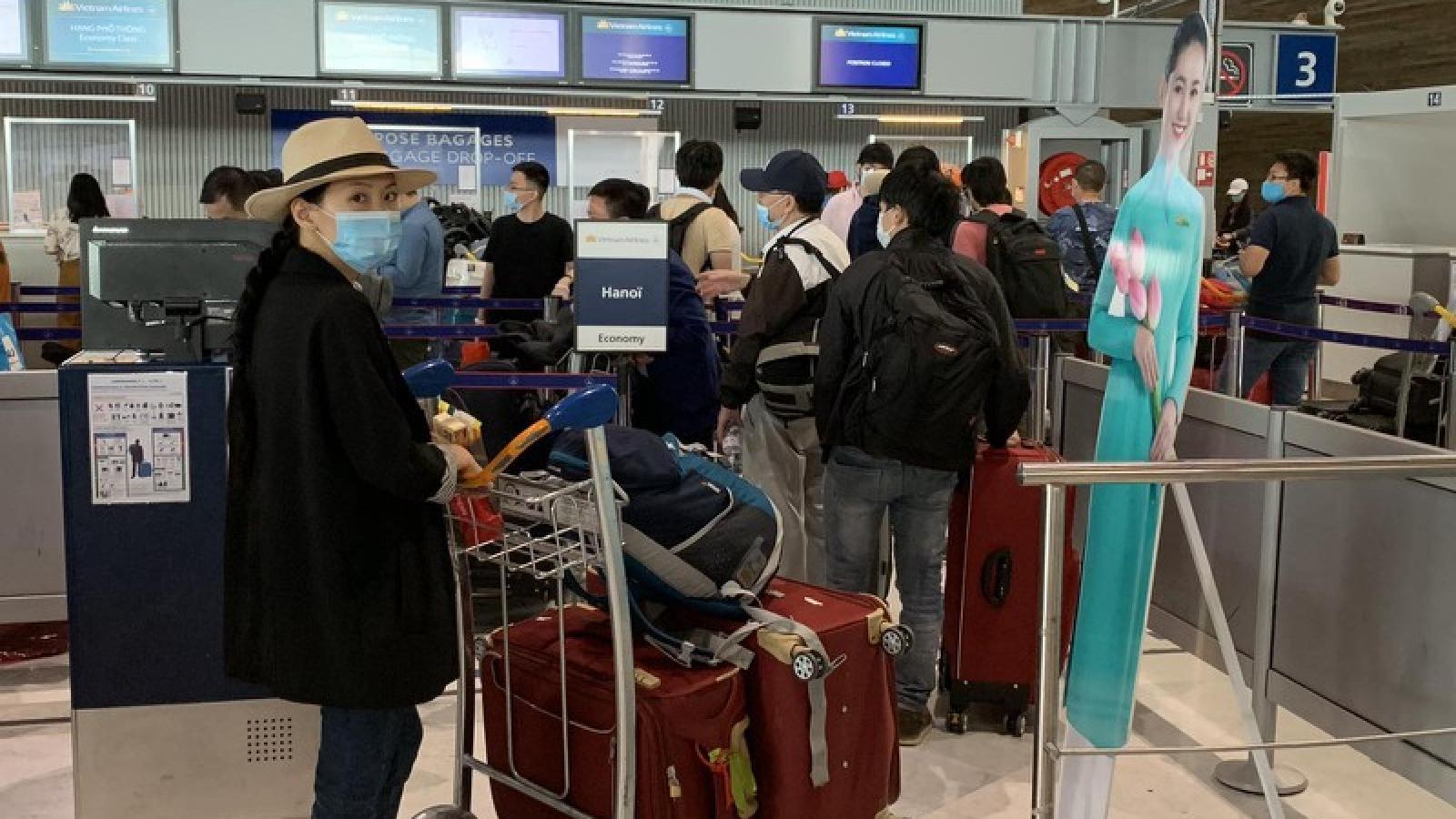 Đưa hơn 280 công dân Việt Nam từ Pháp và các nước lân cận về nước