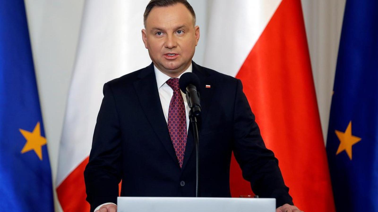Đương kim Tổng thống Ba Lan vào vòng 2 cuộc bầu cử Tổng thống
