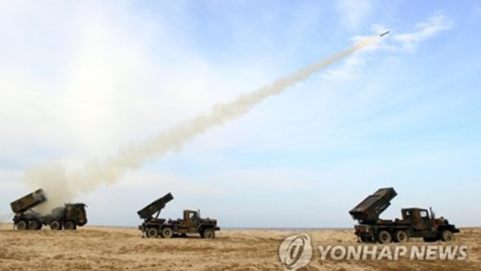 """Hàn Quốc diễn tập quân sự bất kể Nhật Bản và Triều Tiên """"không vui"""""""