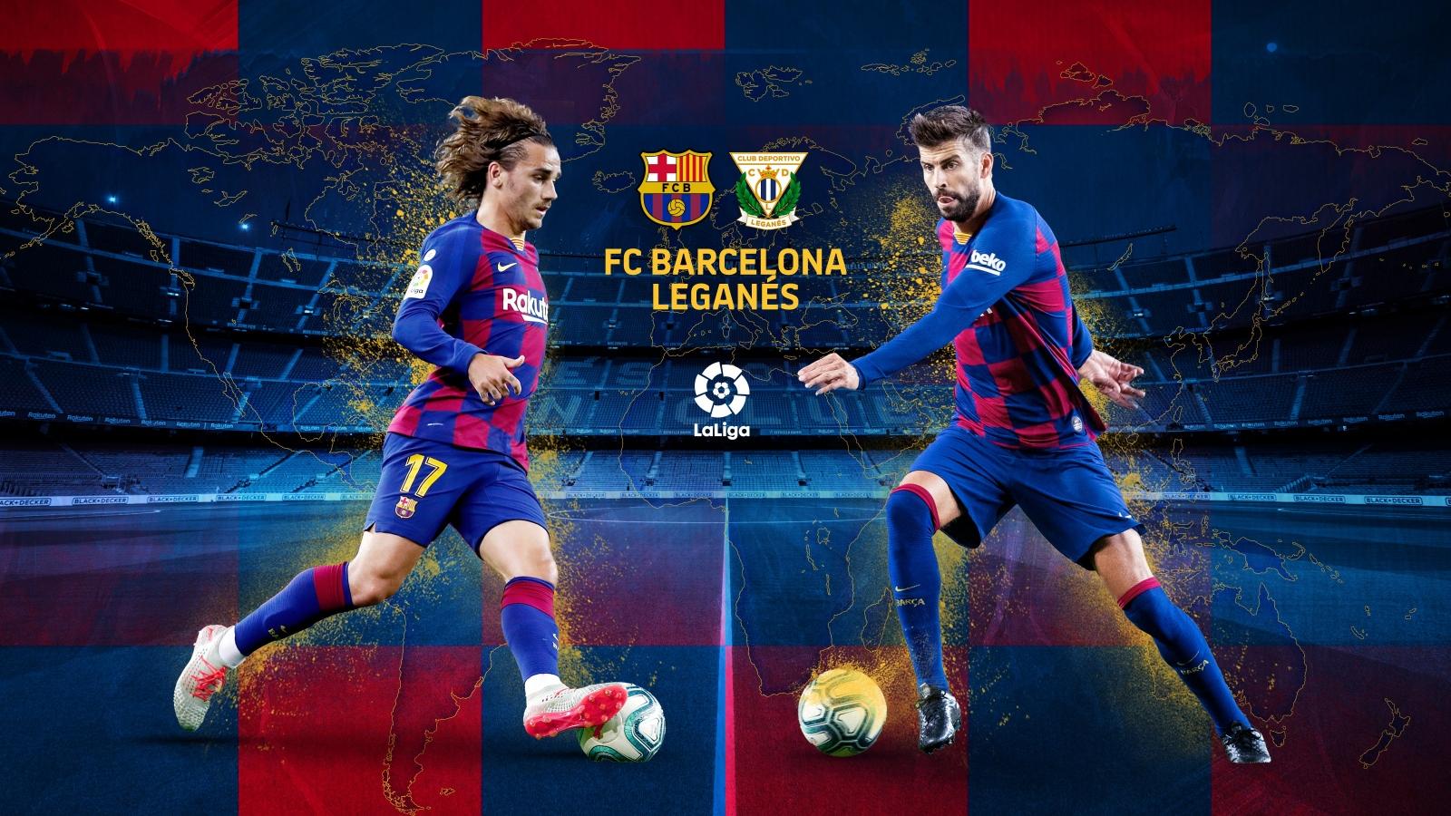Đội hình dự kiến Barca - Leganes: Griezmann sát cánh Messi