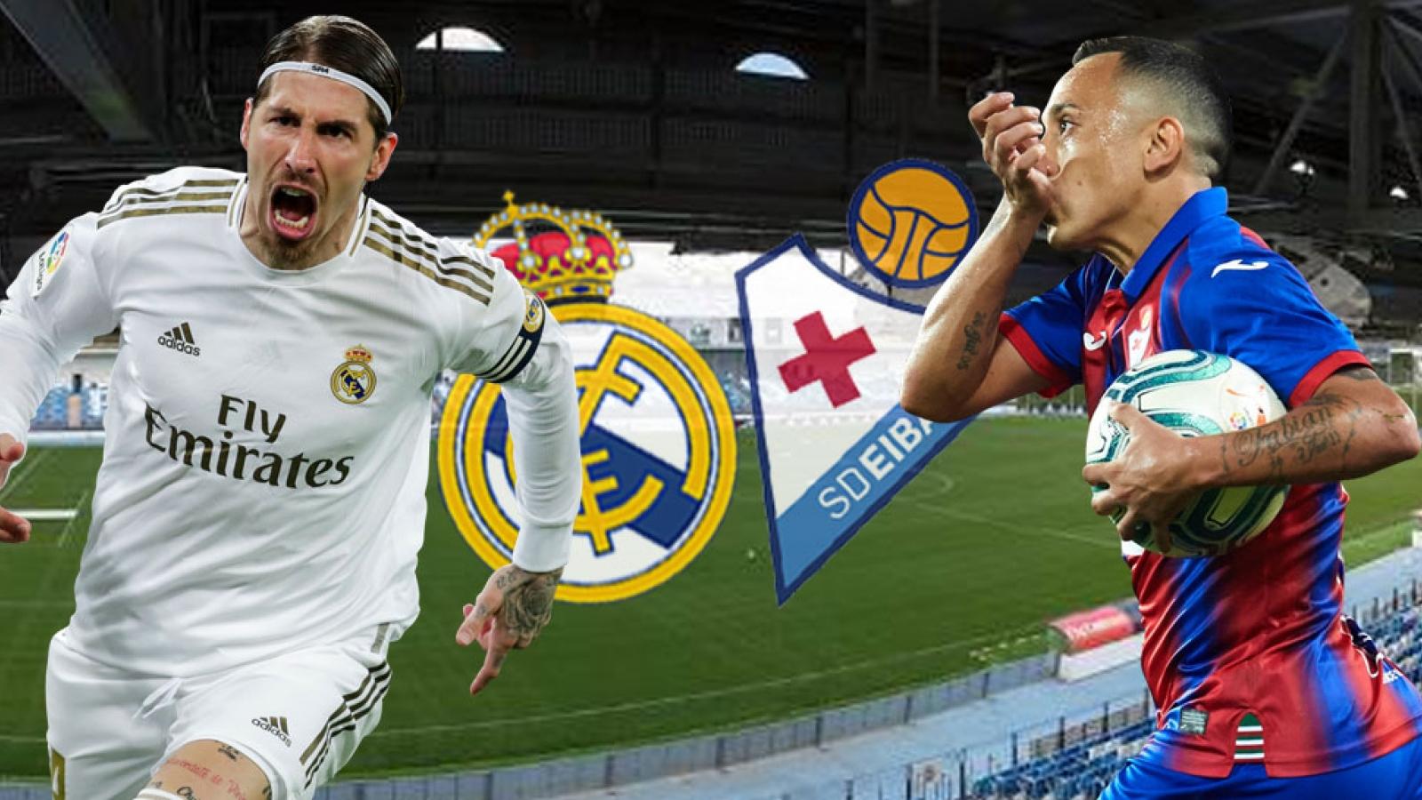 Đội hình dự kiến Real Madrid - Eibar: Eden Hazard lĩnh ấn tiên phong?