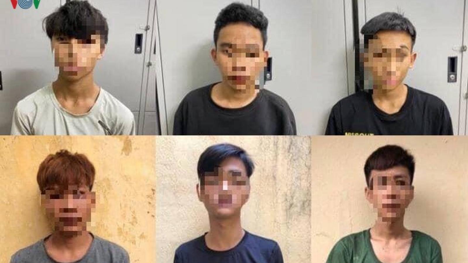 Không có tiền chơi game, 6 thanh thiếu niên rủ nhau cướp tài sản