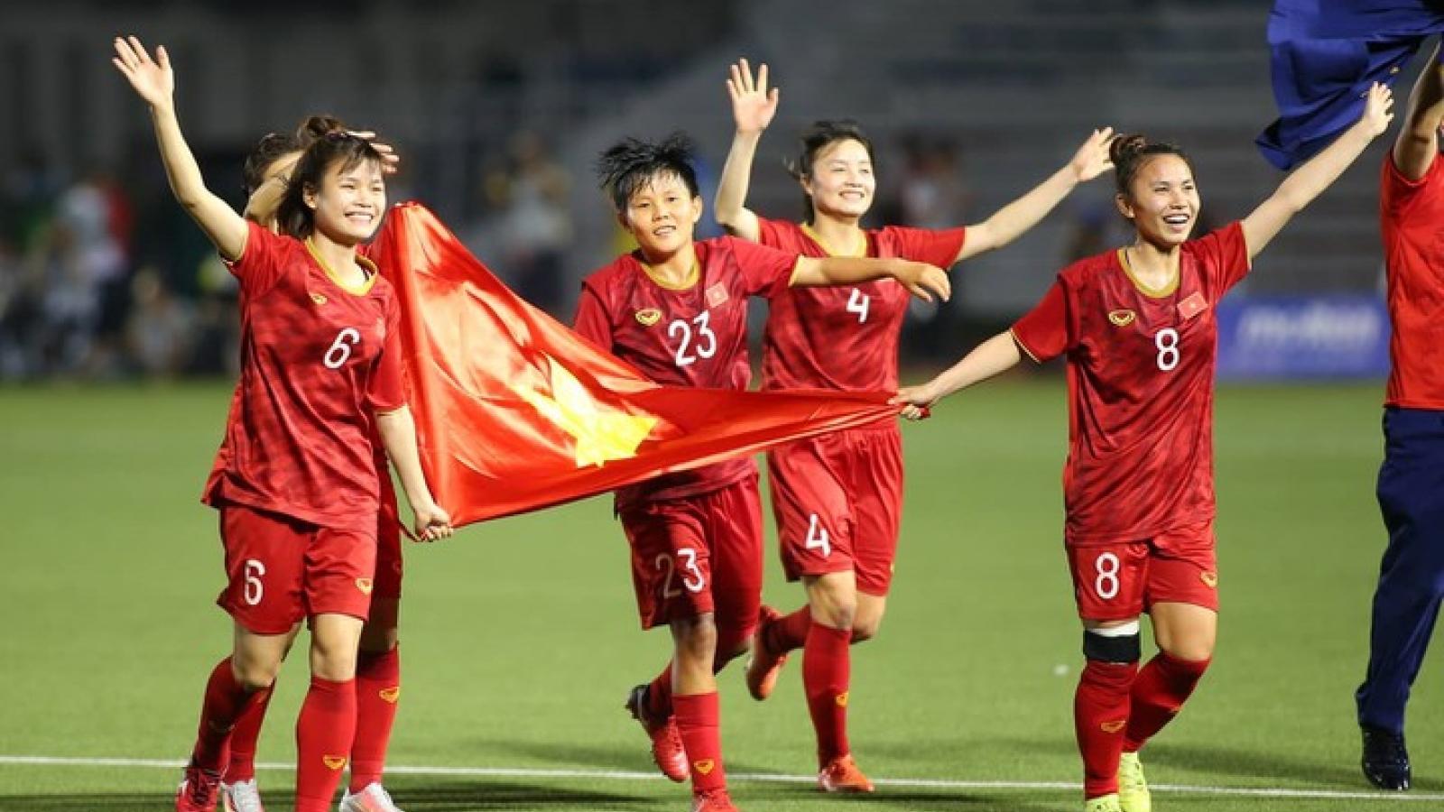 ĐT nữ Việt Nam tràn trề cơ hội dự World Cup nữ 2023