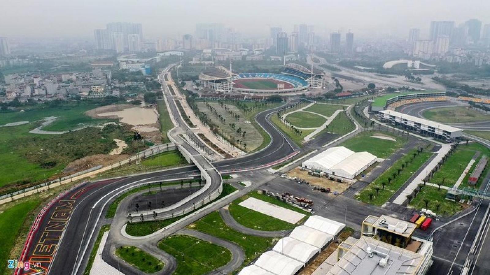 Đường đua F1 ở Hà Nội hiện tại thế nào?