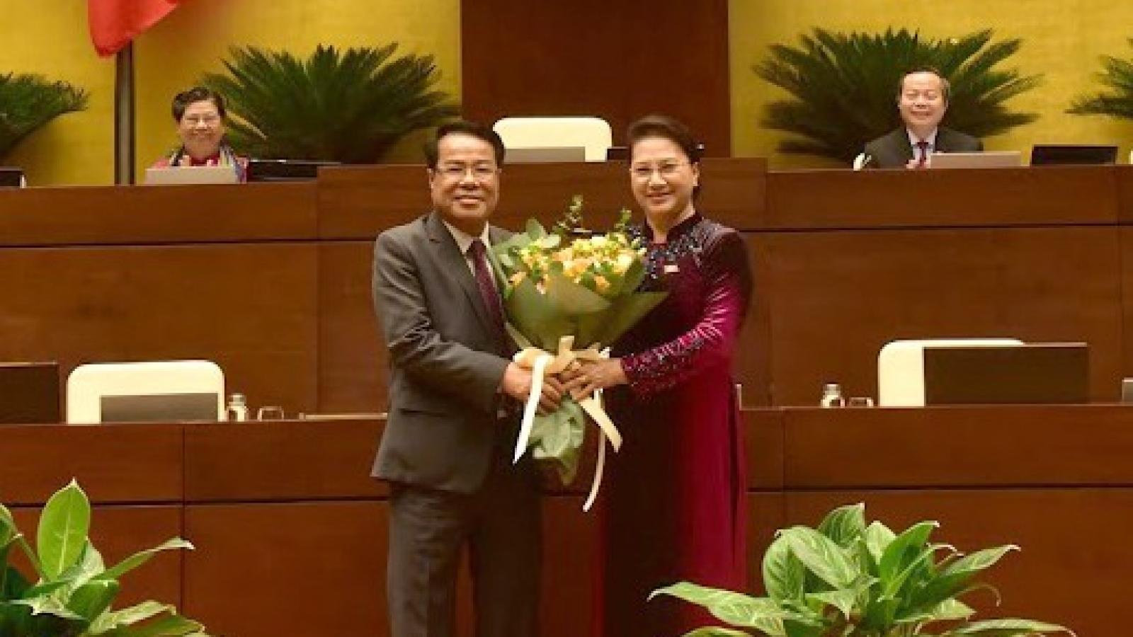 Bí thư Cà Mau được bầu giữ chức Uỷ viên Uỷ ban Thường vụ Quốc hội
