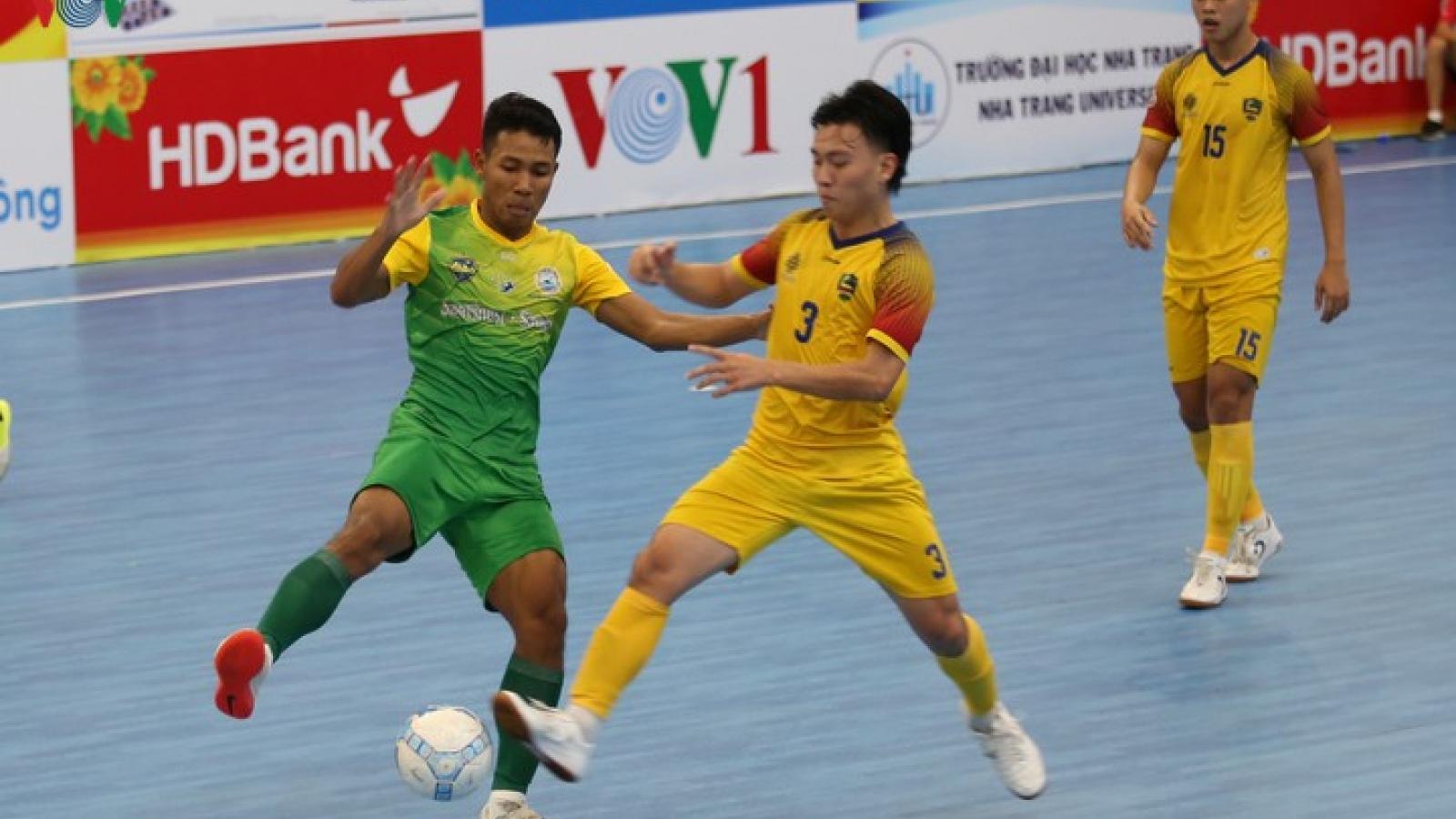 Xem trực tiếp Futsal HDBank VĐQG 2020: Quảng Nam - Sanatech Khánh Hòa