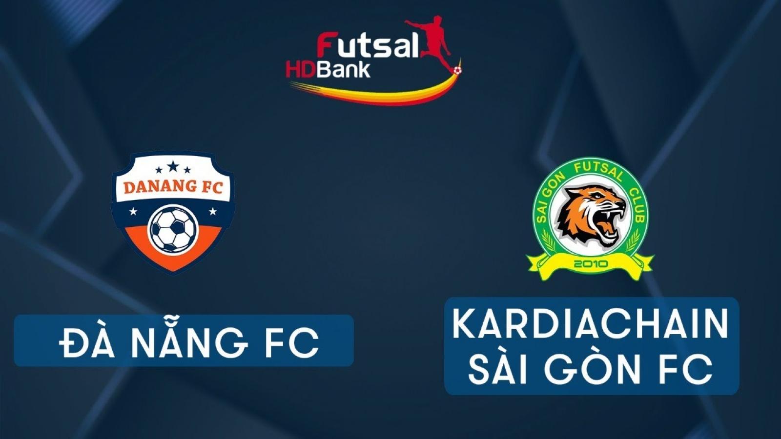 Xem trực tiếp Futsal HDBank VĐQG 2020: Đà Nẵng - Kardiachain Sài Gòn