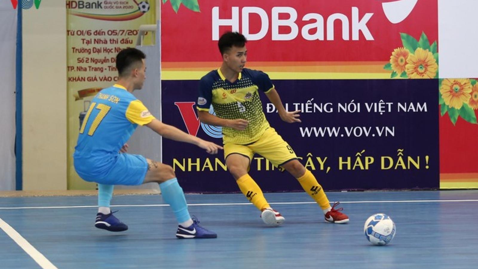 Xem trực tiếp Futsal HDBank VĐQG 2020: Sanna Khánh Hòa - Cao Bằng