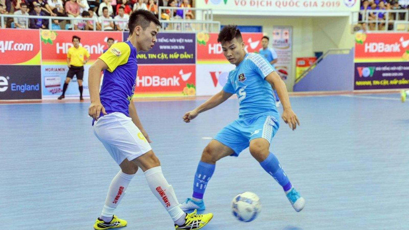 Xem trực tiếp Futsal HDBank VĐQG 2020: Quảng Nam vs Thái Sơn Bắc