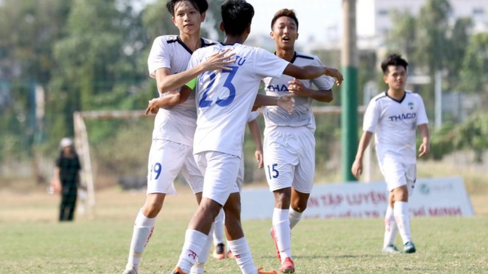 """HAGL làm nên lịch sử, Hà Nội FC sớm """"bật bãi"""" ở giải U19 Quốc gia"""