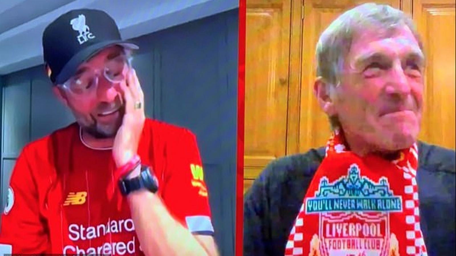 HLV Klopp bật khóc khi Liverpool vô địch Premier League 2019/2020