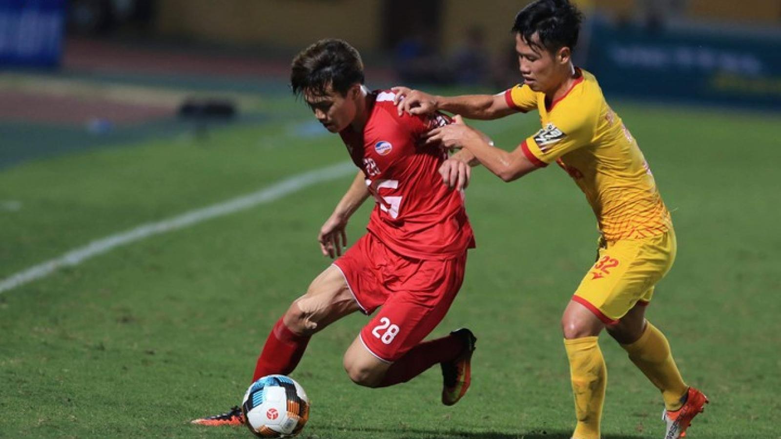Tuyển thủ Việt Nam dính chấn thương tại V-League 2020