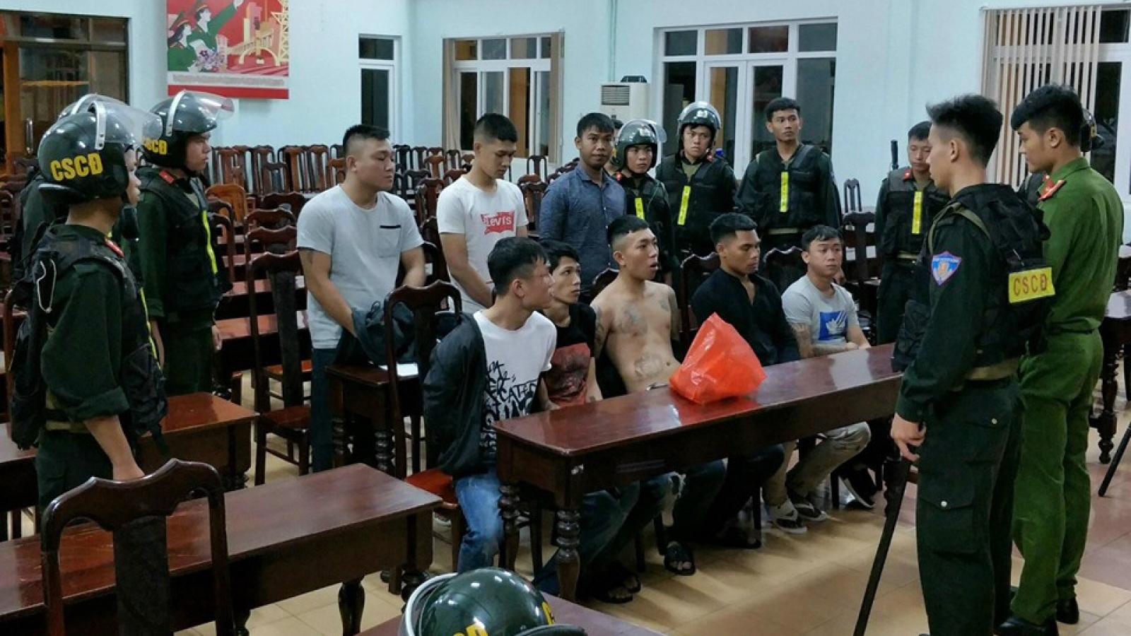 Hỗn chiến ở Đắk Lắk: Gần 50 thanh niên mang hung khí ẩu đả