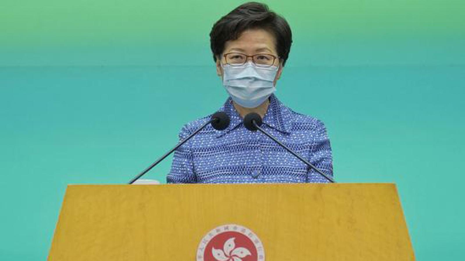 Trưởng Khu hành chính đặc biệt Hong Kong sắp đến Bắc Kinh