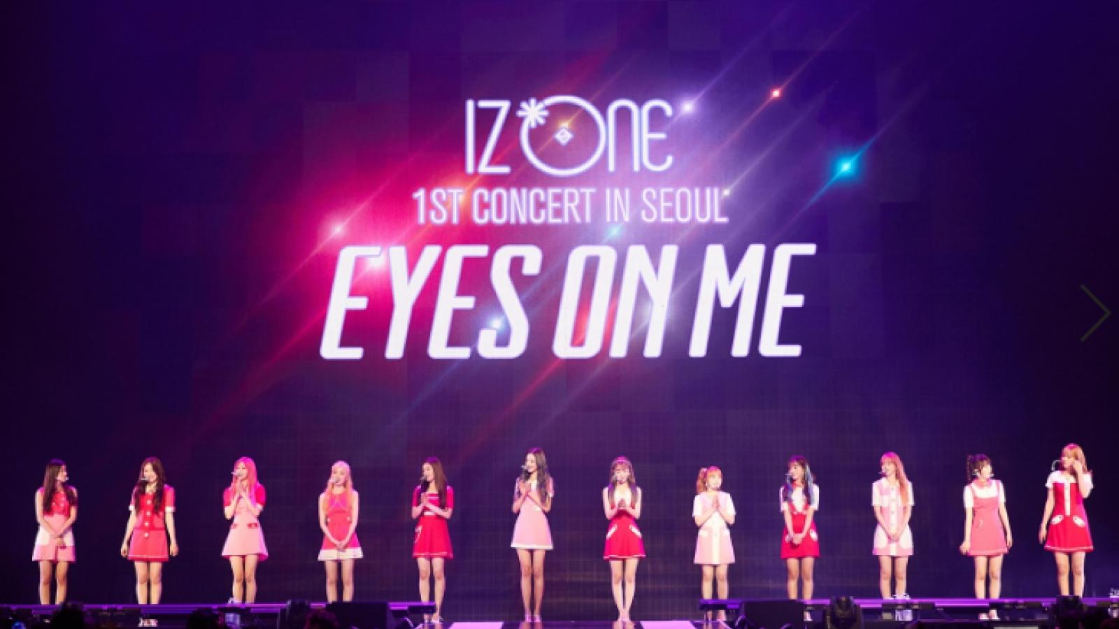 Nối tiếp BTS, IZ*ONE đưa concert lên màn ảnh rộng Việt Nam