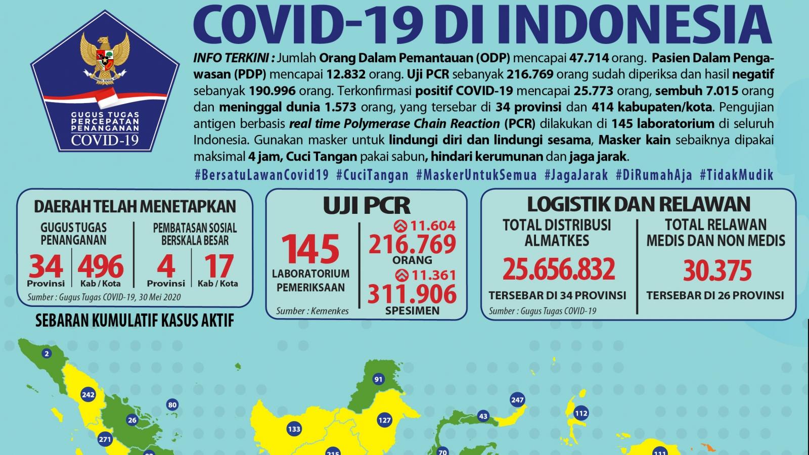 """102 khu vực tại Indonesia sẽ áp dụng """"bình thường mới"""" trước Covid-19"""