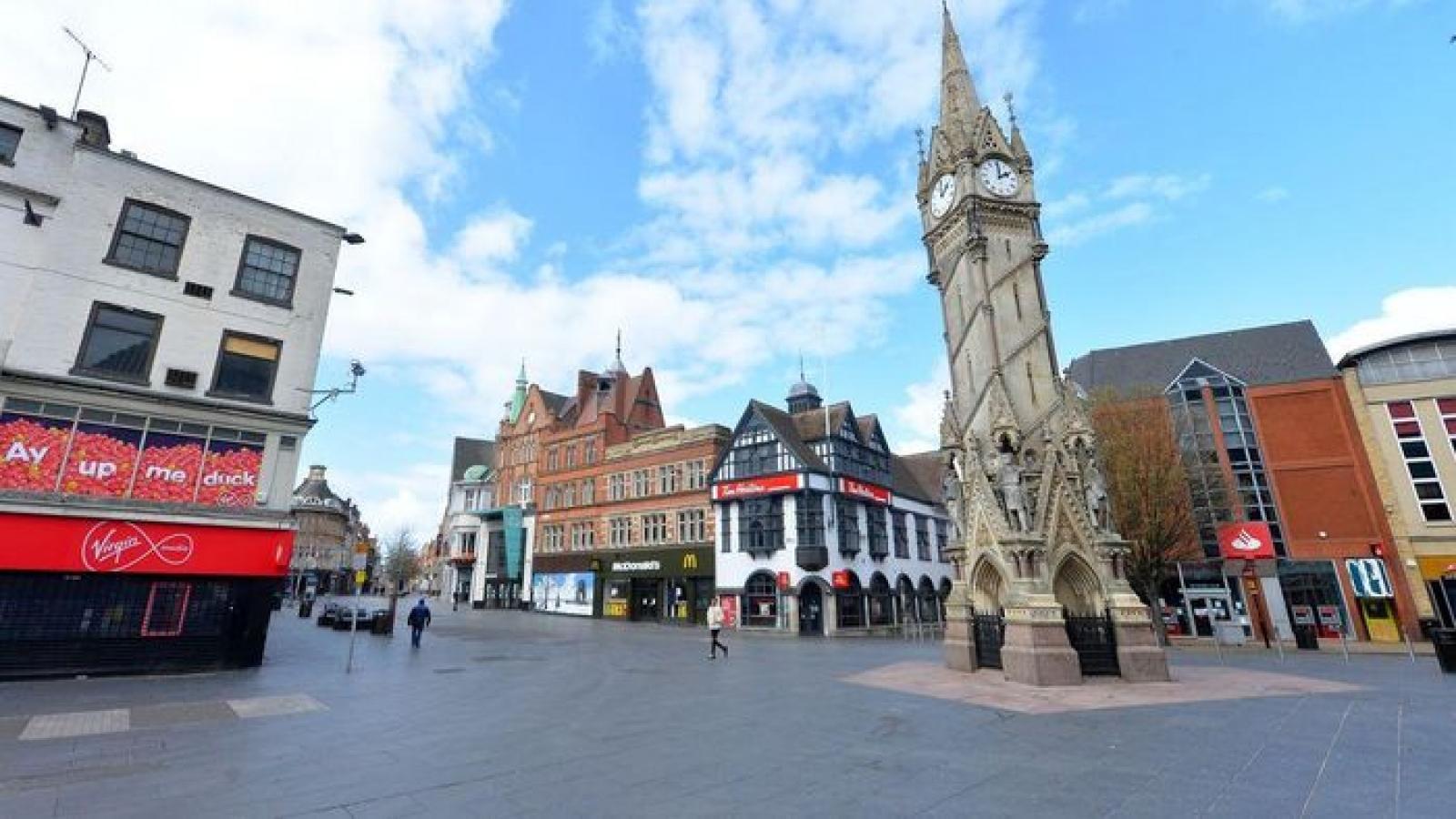 Anh tái phong tỏa thành phố Leicester trước làn sóng Covid-19 thứ 2