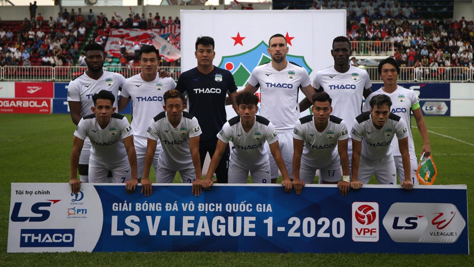 Lịch thi đấu vòng 5 V-League 2020: HAGL gặp đối thủ khó nhằn
