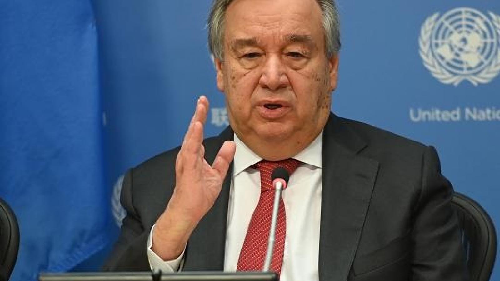 """Tổng thư ký Liên Hợp Quốc kêu gọi """"tái tạo"""" thế giới hậu Covid-19"""