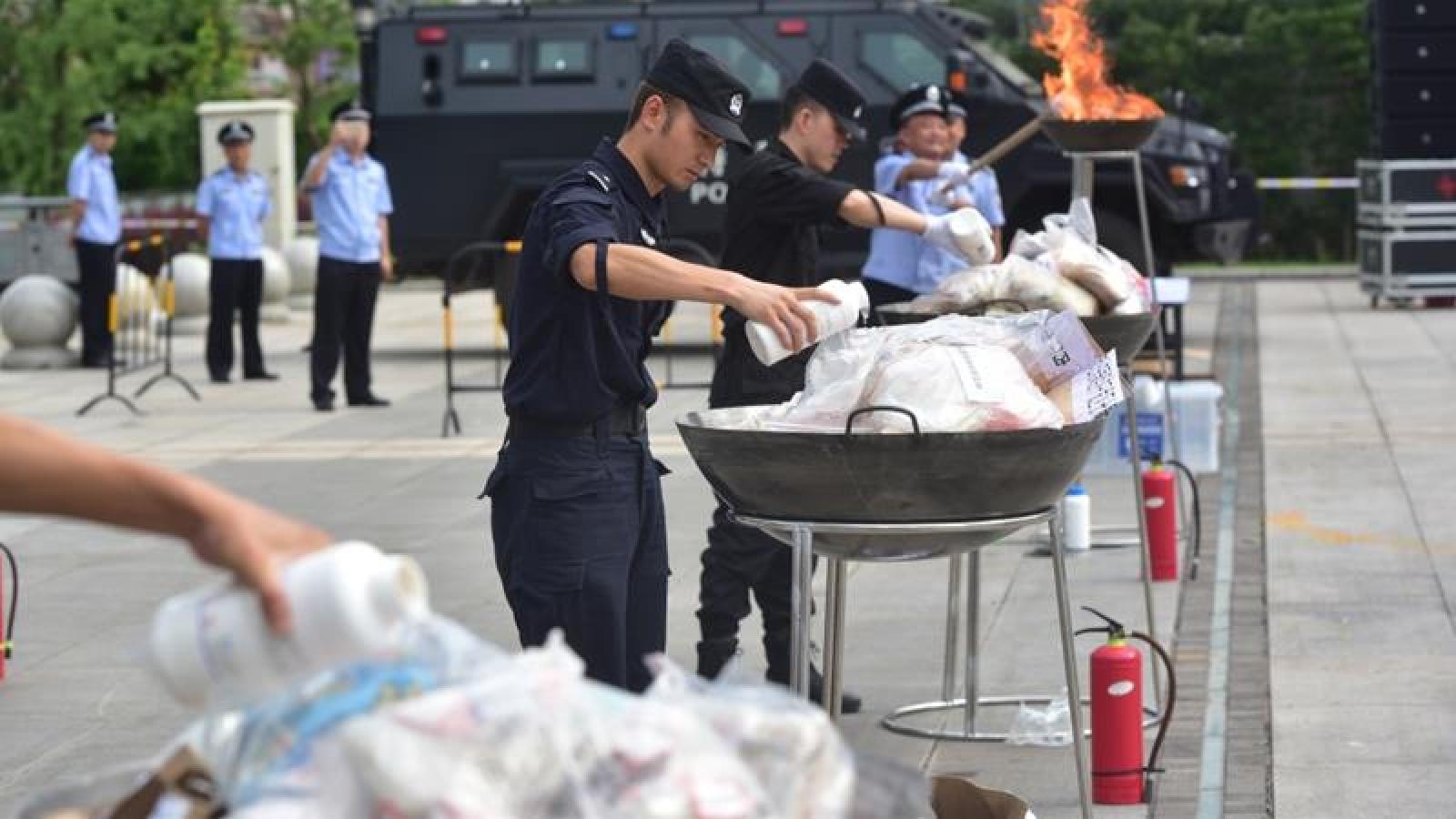 Trung Quốc vẫn còn hơn 2 triệu người nghiện ma túy
