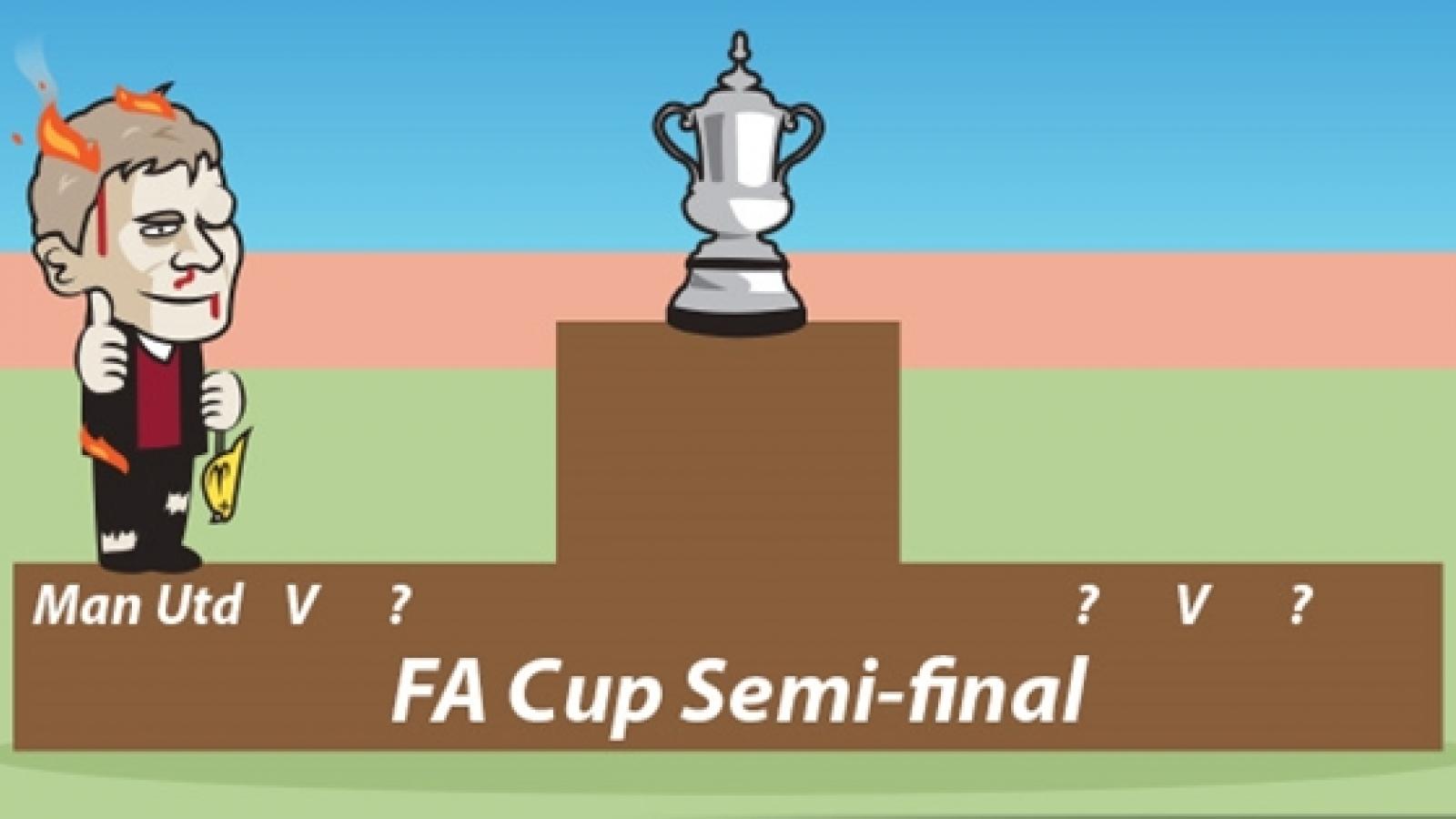 Biếm họa 24h: MU trầy trật giành quyền vào bán kết FA Cup