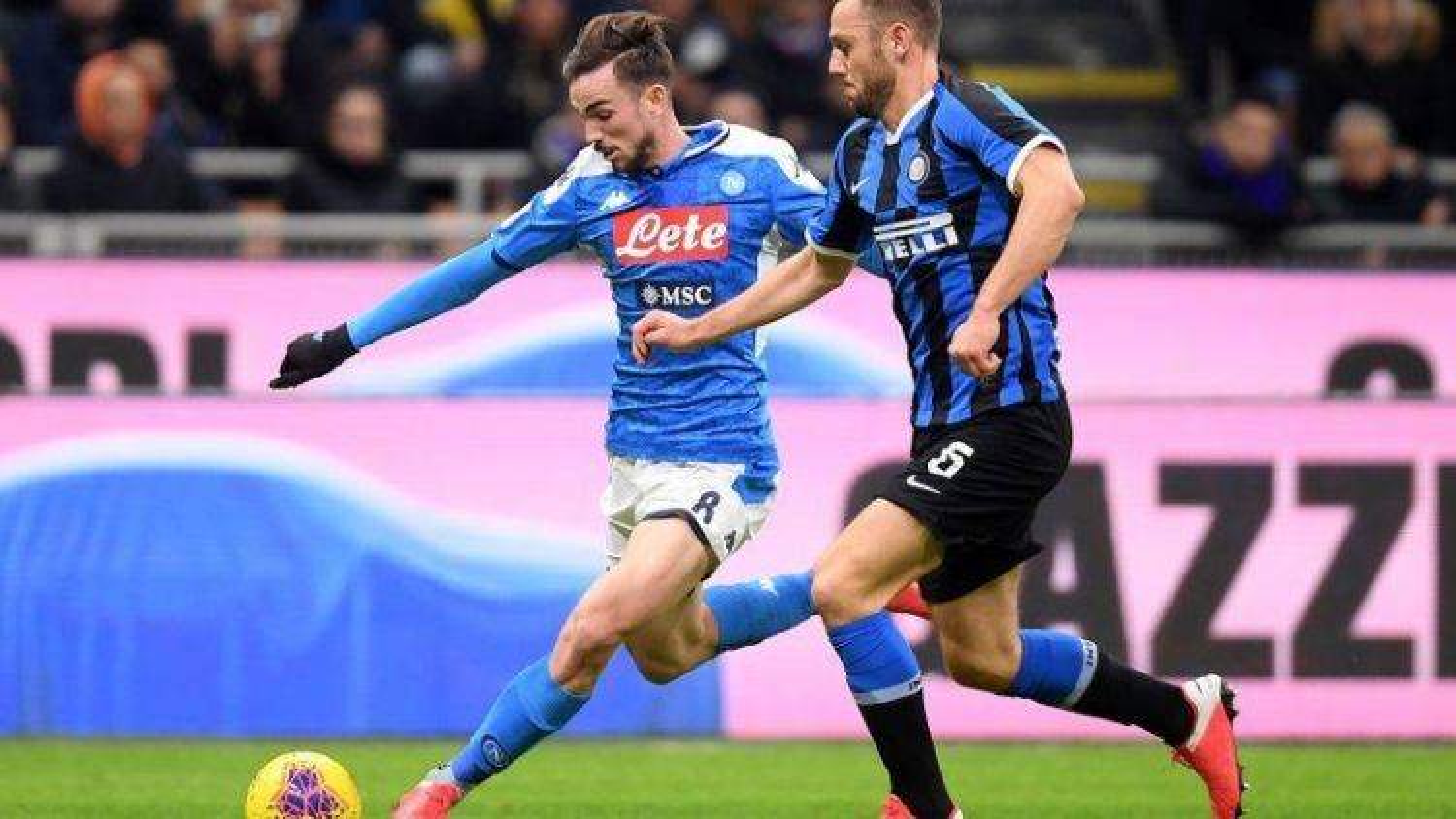 """Napoli - Inter: Chờ trận """"chung kết trong mơ""""?"""
