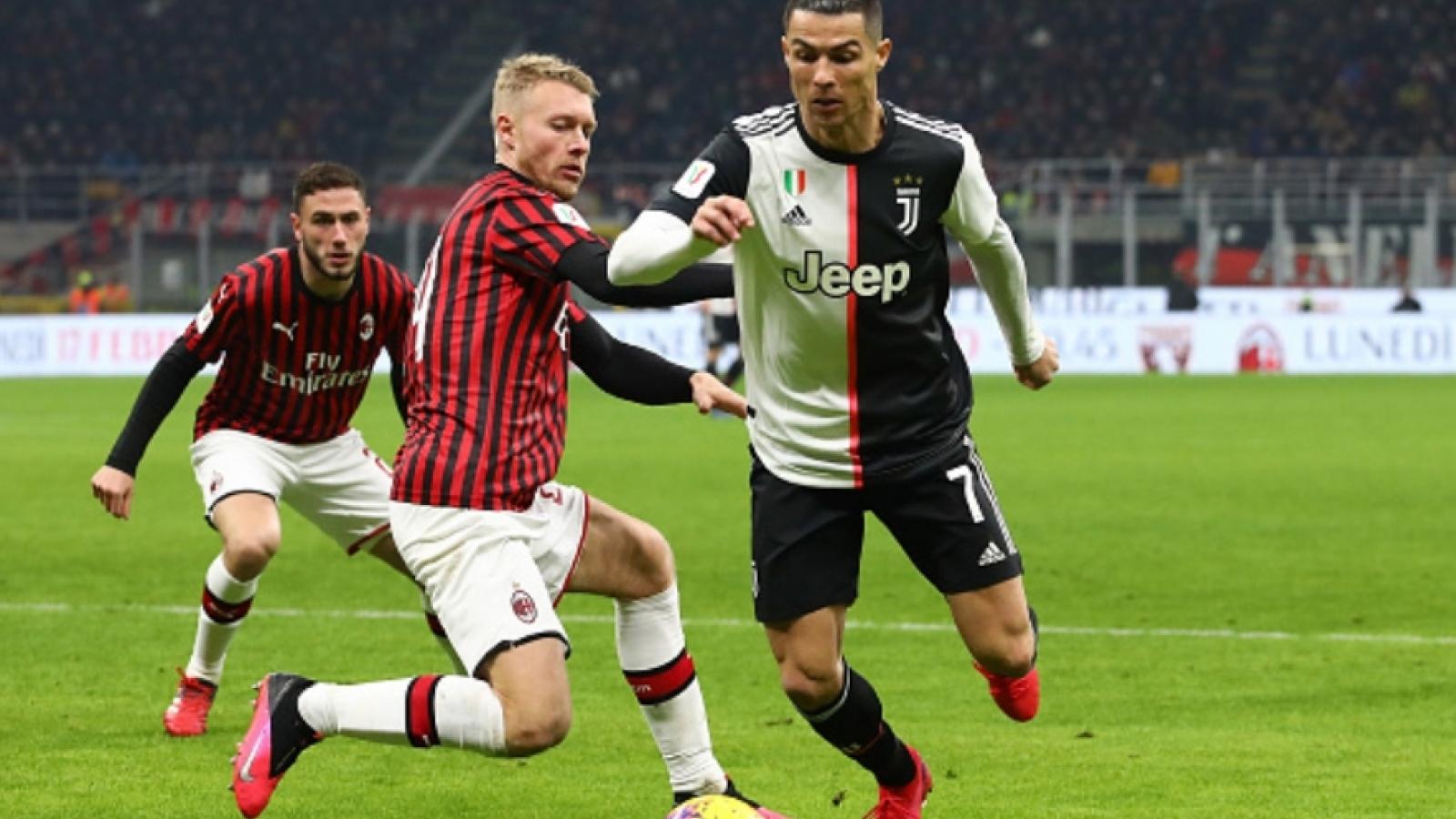 Juventus - AC Milan: Làm sao cản bước Ronaldo?