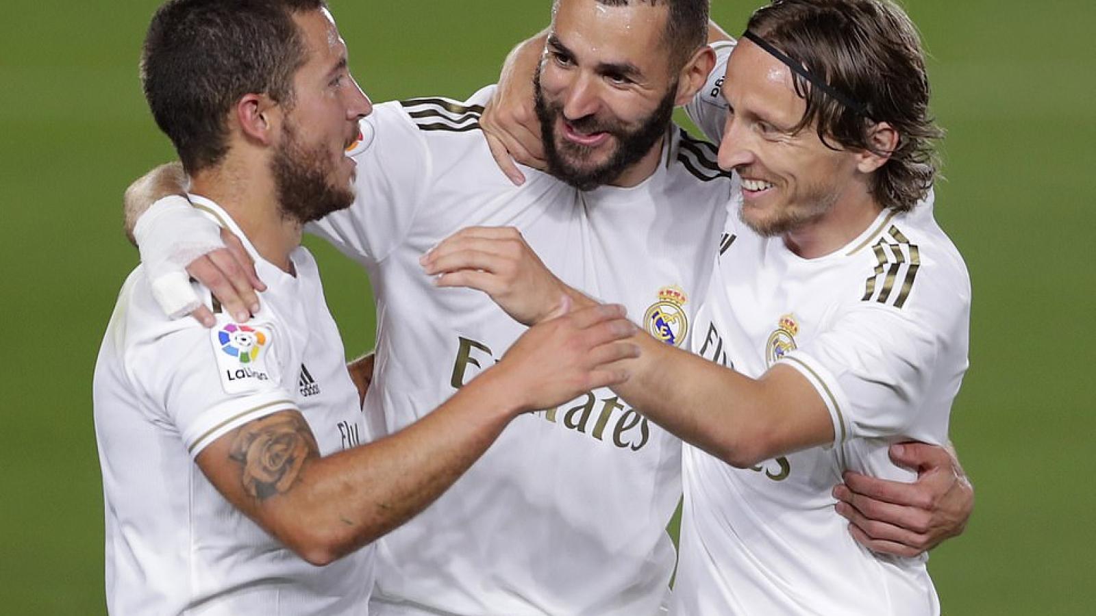 """Sociedad - Real Madrid: Cơ hội vàng của """"Kền kền trắng"""""""