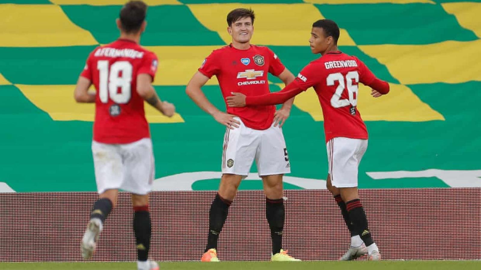 Khuất phục 10 người của Norwich trong hiệp phụ, MU vào bán kết FA Cup