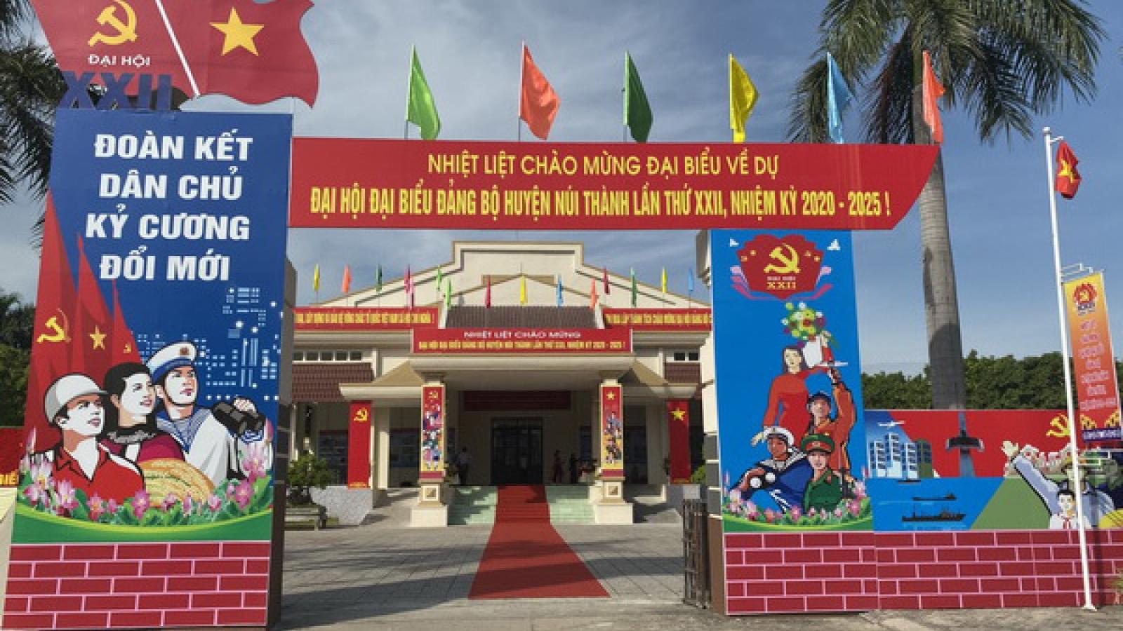 Quảng Nam tổ chức Đại hội điểm tại huyện Núi Thành