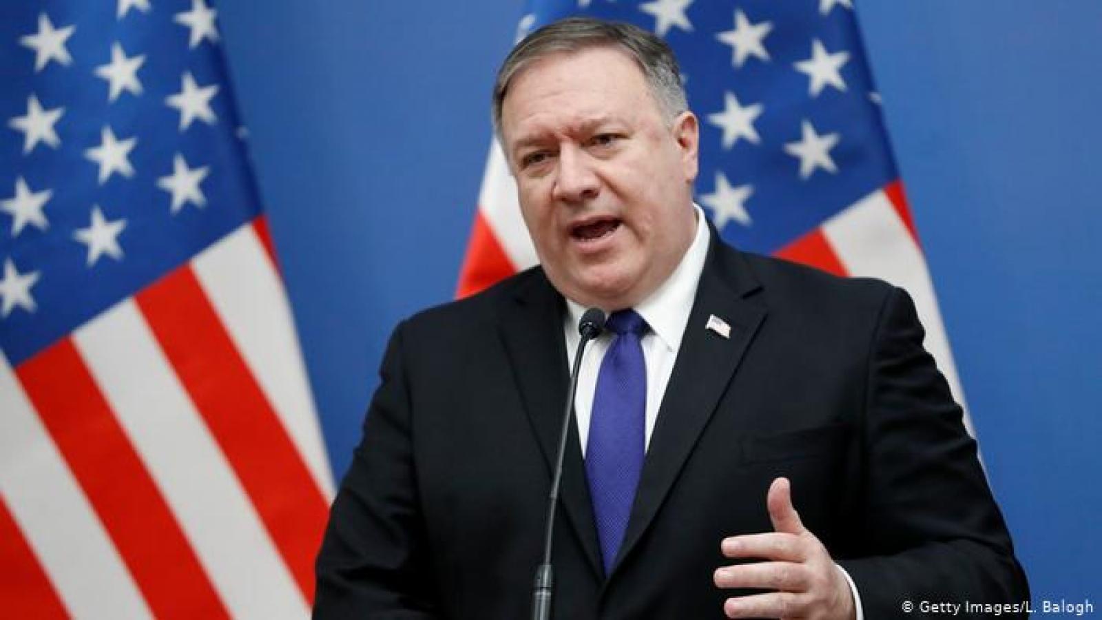 Mỹ sẽ trừng phạt Iran nếu LHQ không gia hạn lệnh cấm vận vũ khí