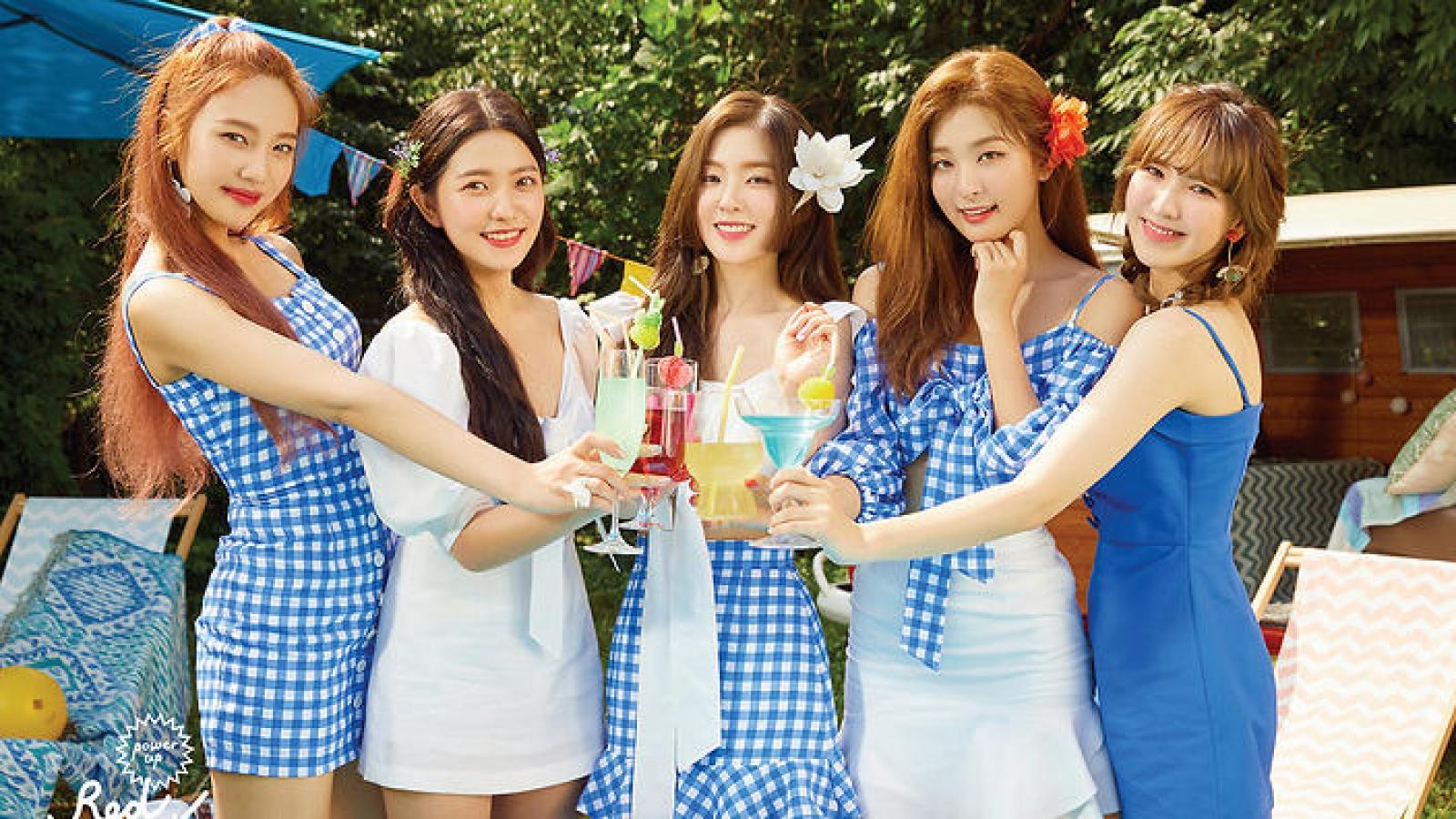 """""""Power up"""" trở thành MV thứ 8 đạt 100 triệu view của Red Velvet"""
