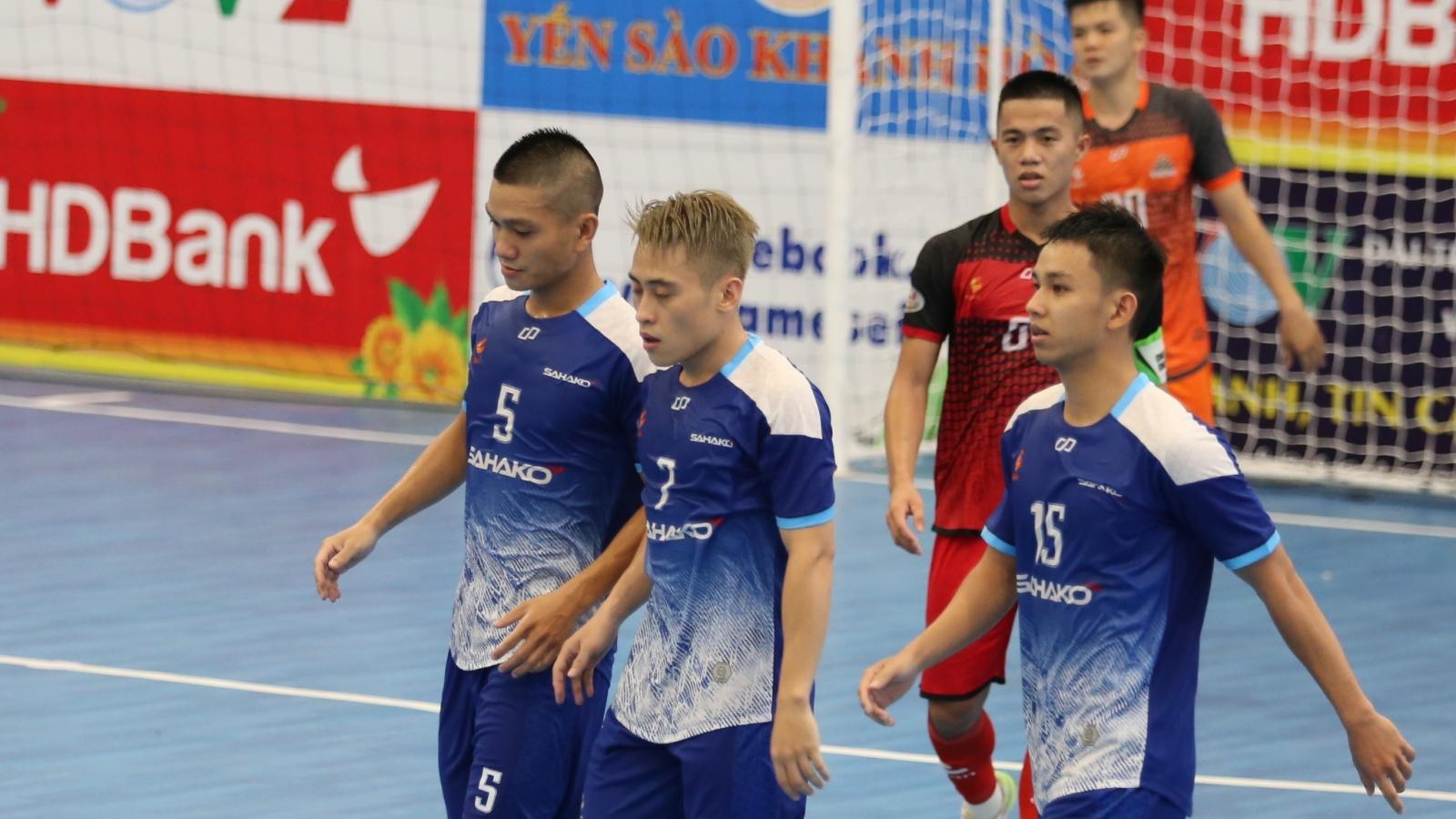 Giải futsal HDBank VĐQG 2020: Sahako thắng dễ Cao Bằng