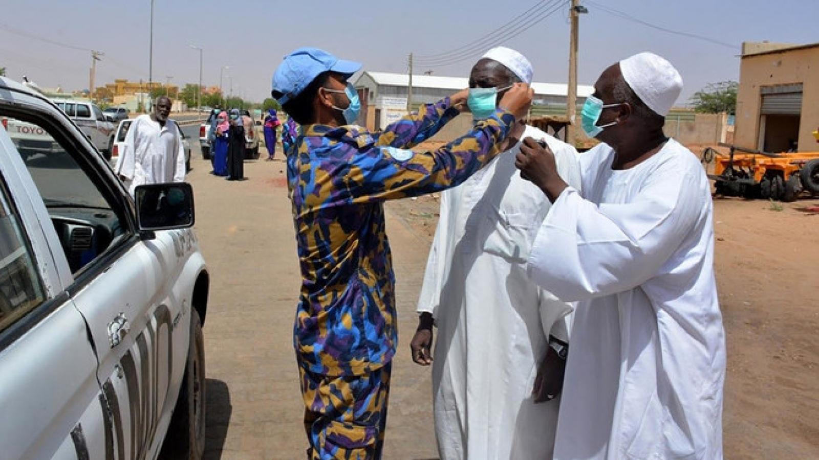 Dịch Covid-19 đang lây lan không kiểm soát được ở Darfur (Sudan)