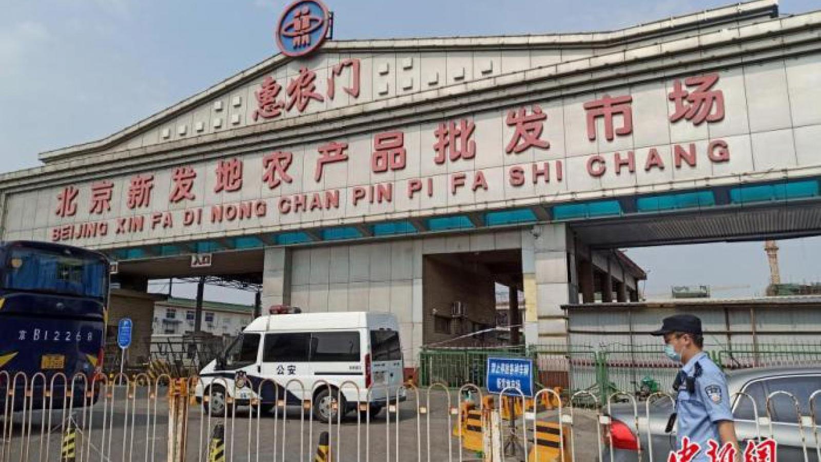 Bắc Kinh thêm 36 ca mắc Covid-19, quận Phong Đài trong tình trạng khẩn cấp
