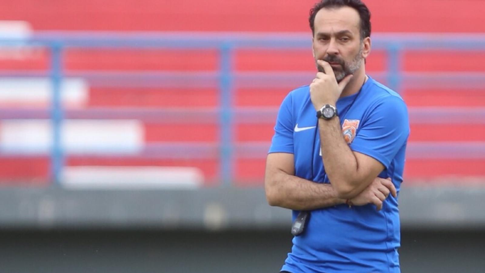 Toàn thua 3 vòng ở V-League 2020, Thanh Hóa chia tay HLV Fabio Lopez