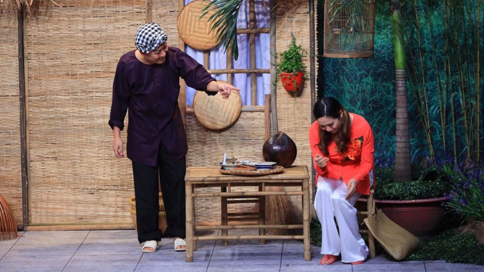 """Bị Thanh Thúy """"đốt nhà"""", Trường Giang đem Nhã Phương ra để """"đe dọa"""""""