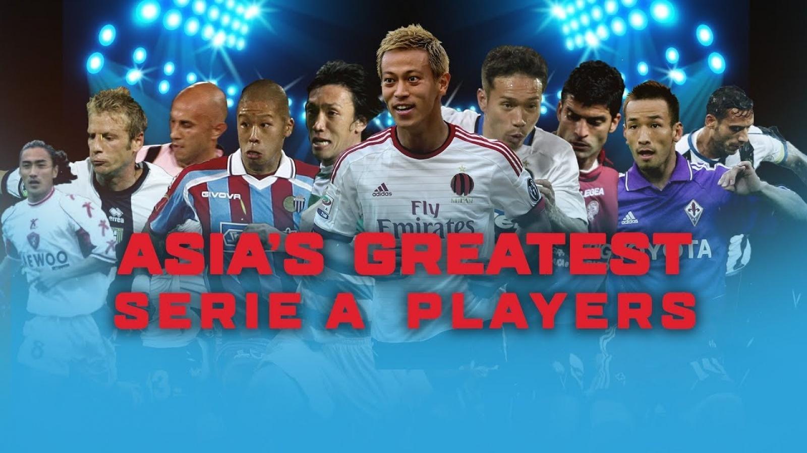 Top 10 cầu thủ châu Á thành công nhất tại Serie A