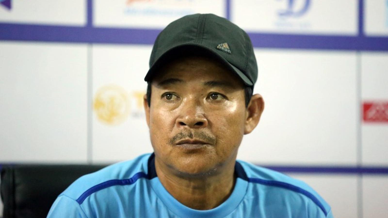 HLV Đồng Tháp thừa nhận sự thật phũ phàng sau trận thua Hà Nội FC
