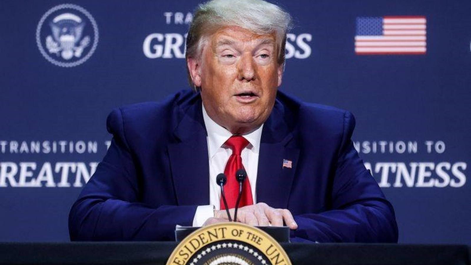 Người dự vận động tranh cử của Trump không được kiện nếu mắc Covid-19