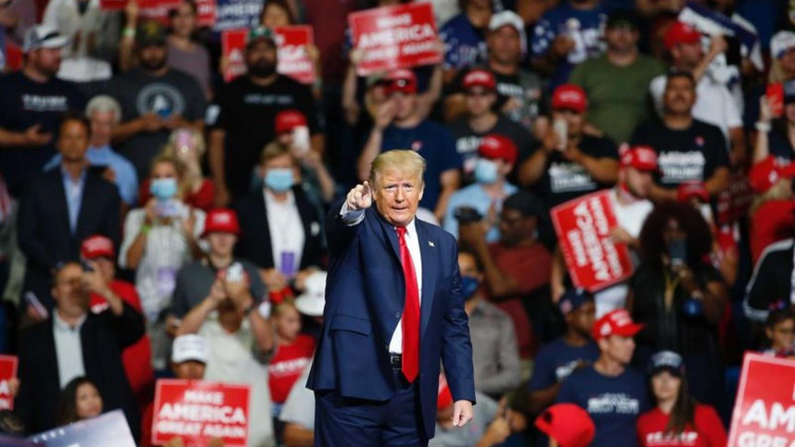 """Trump mắc """"sai lầm đáng tiếc"""" trong cuộc vận động tranh cử tại Tulsa"""