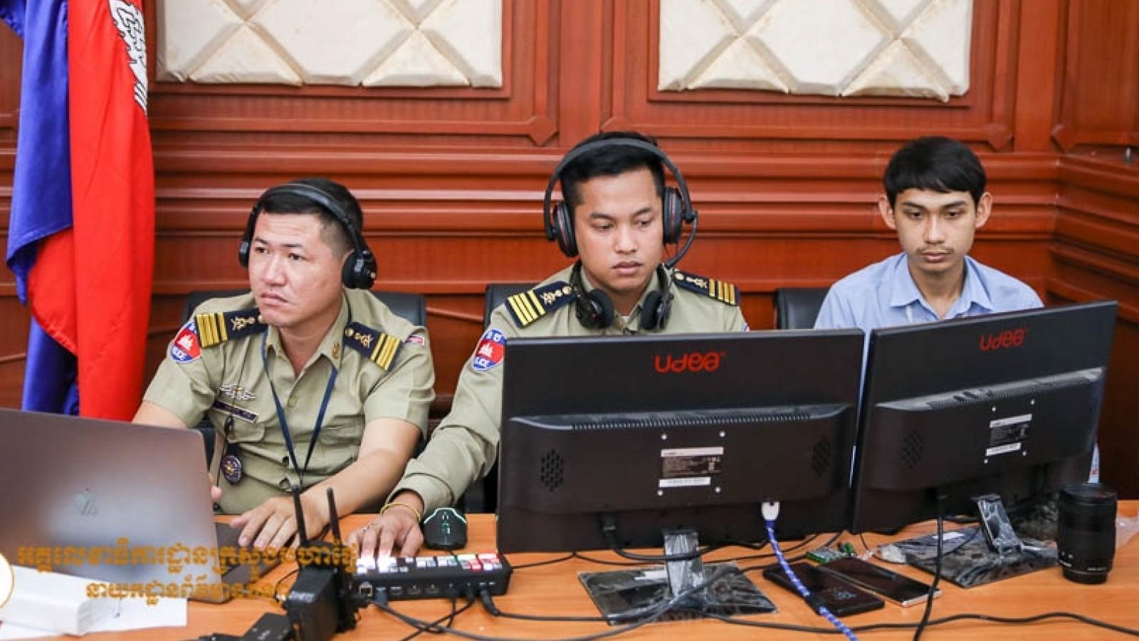 Mỹ hỗ trợ Campuchia xây dựng luật về tội phạm công nghệ cao