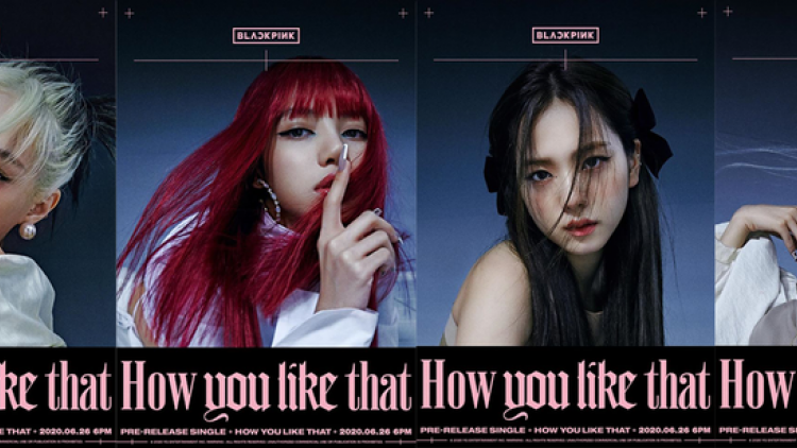 "BLACKPINK hé lộ teaser nhóm cho ca khúc mới ""How you like that"""
