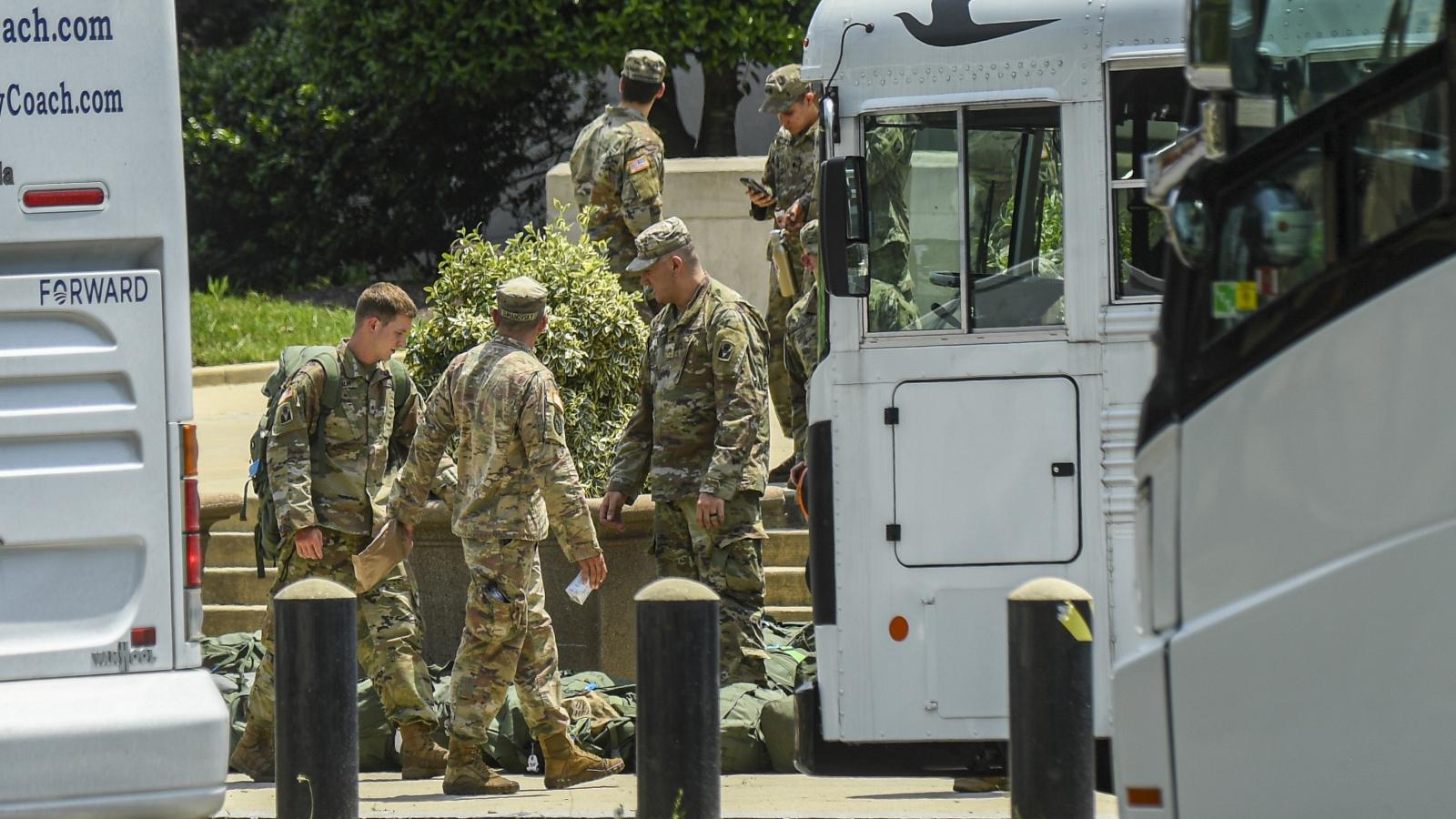 Mỹ rút lực lượng Vệ binh quốc gia khỏi thủ đô Washington
