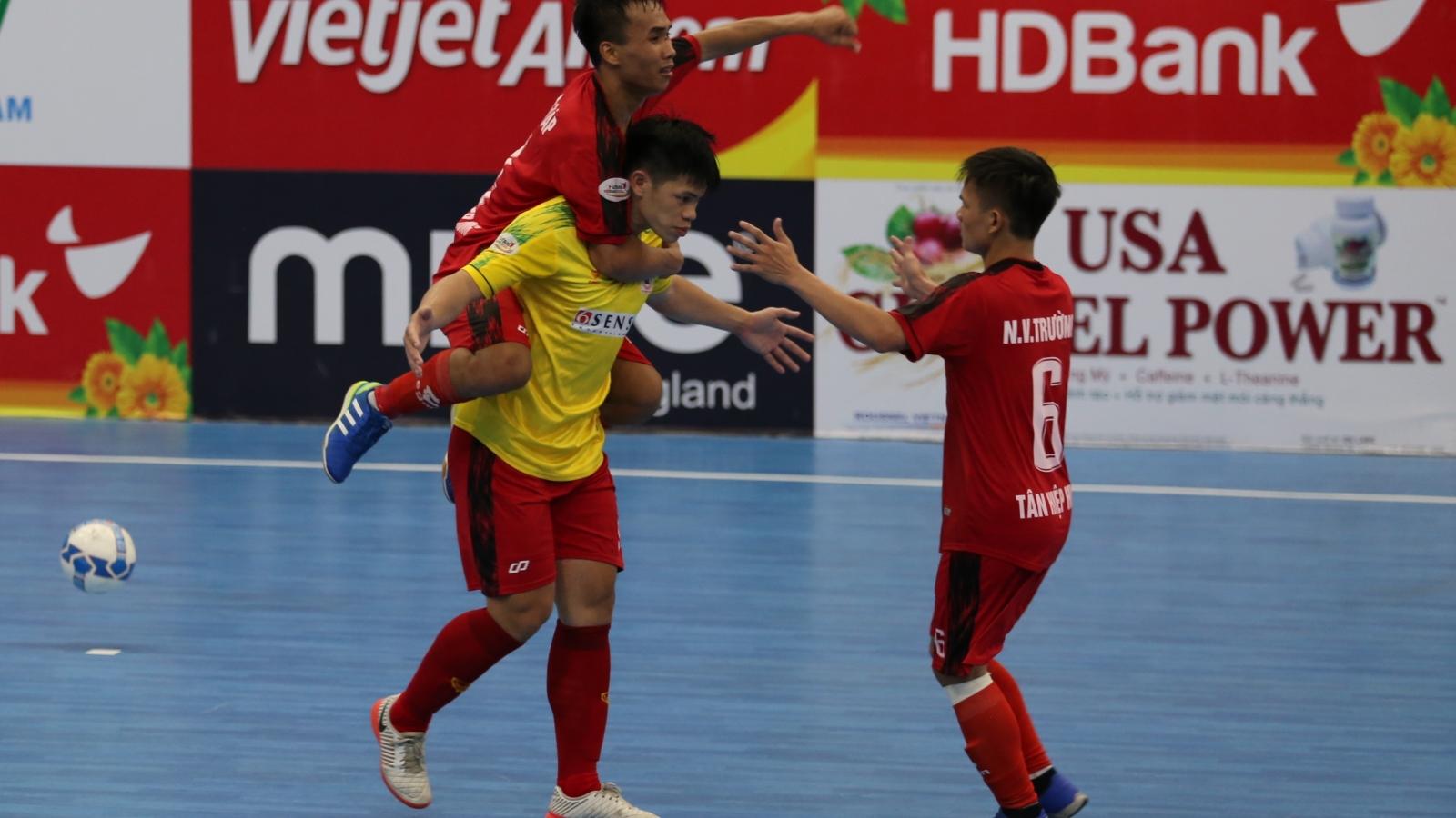 """Futsal HDBank VĐQG 2020: Tân Hiệp Hưng """"hút chết"""", Cao Bằng vào VCK"""