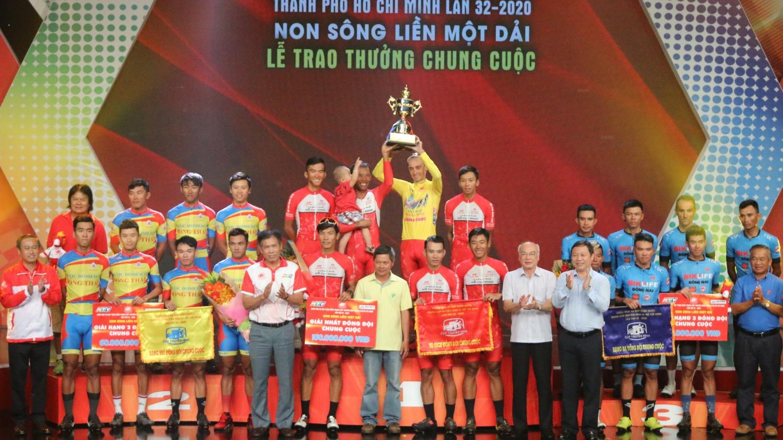 TPHCM thắng lớn ở giải đua xe đạp Cúp Truyền hình TPHCM 2020