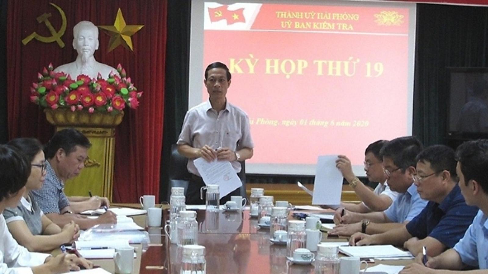 Xem xét kỷ luật nhiều lãnh đạo quận Hồng Bàng và Sở GD-ĐT Hải Phòng