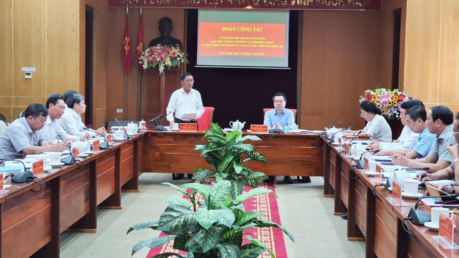 Kiên Giang cần giải quyết tốt đơn thư tố cáo liên quan nhân sự cấp ủy