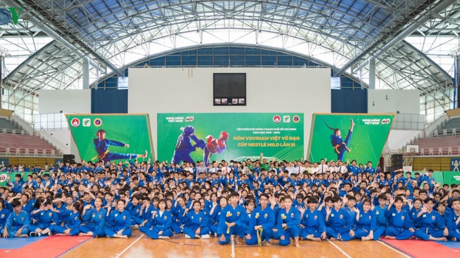Giải thể thao học đường đầu tiên tại TPHCM trở lại sau đợt nghỉ dịch