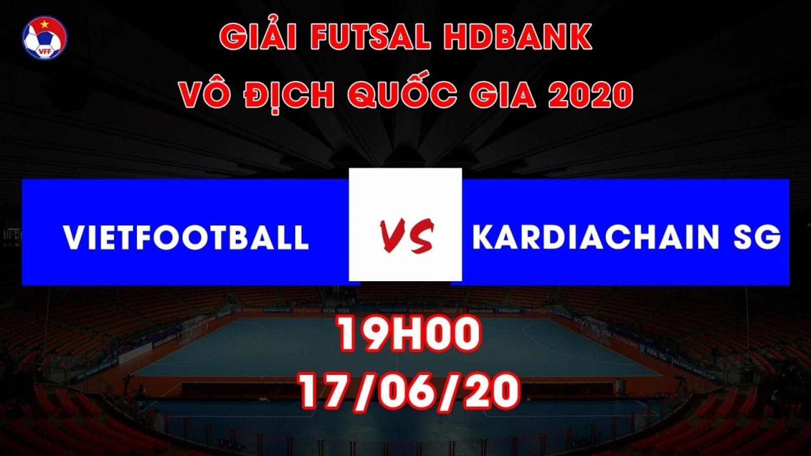 Xem trực tiếp Vietfootball vs Kardiachain Sài Gòn